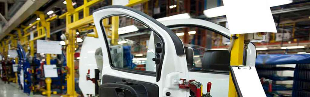The automotive sector is characterized by its extensive logistics.