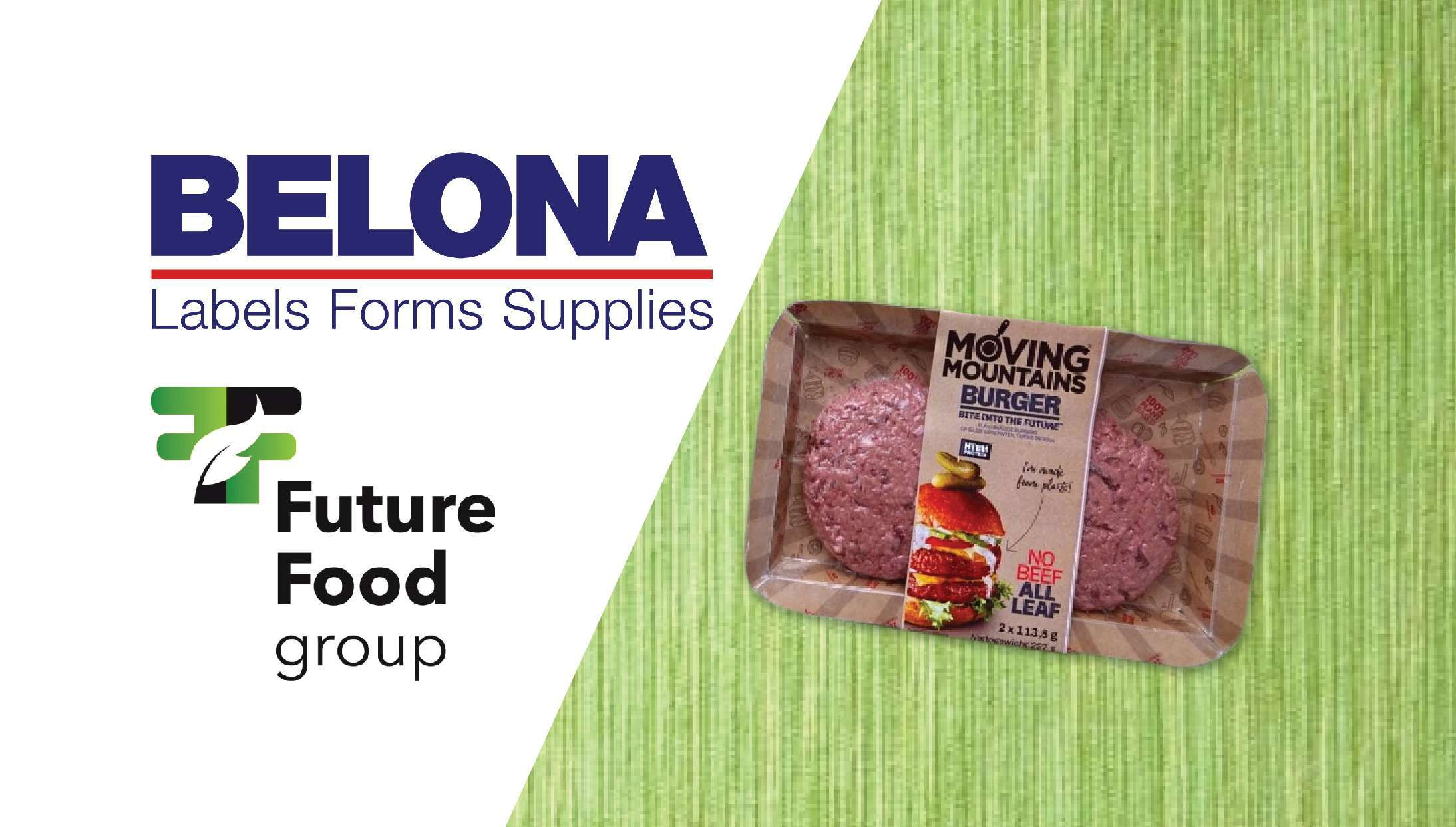 Future Food Group and Ravenwood labels from Belona